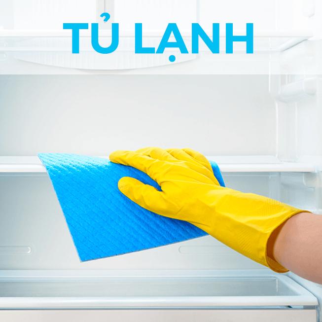 Mẹo vệ sinh đồ gia dụng - vệ sinh tủ lạnh