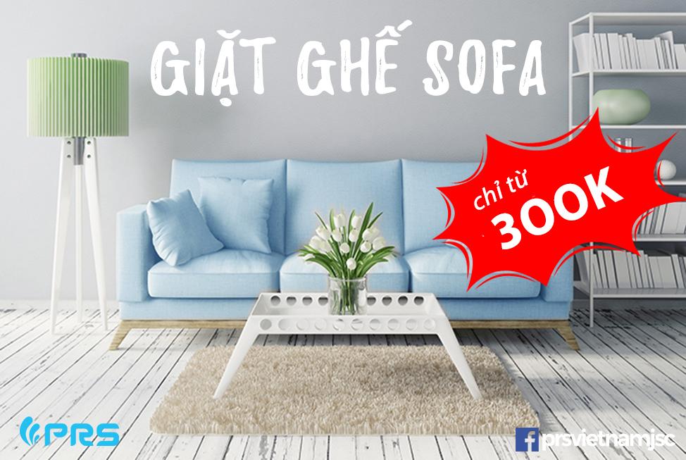 Giặt ghế sofa giá rẻ Hà Nội